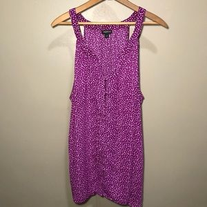 Torrid Purple Button Up Tank
